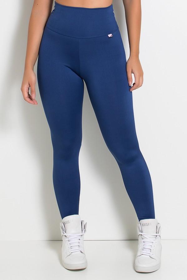 Legging Lisa Suplex Azul Marinho