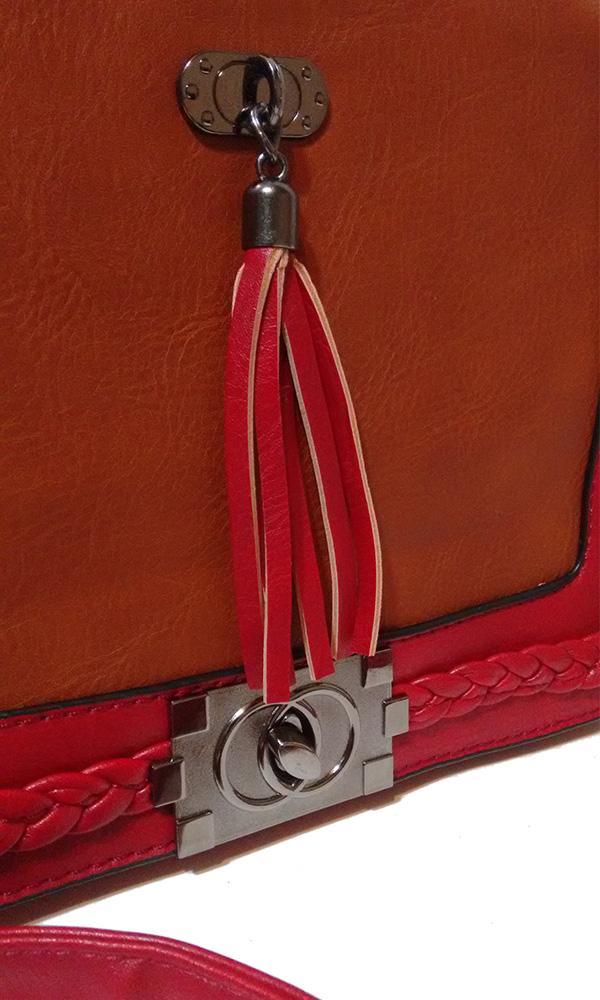 Bolsa Linha Platinum Vermelha