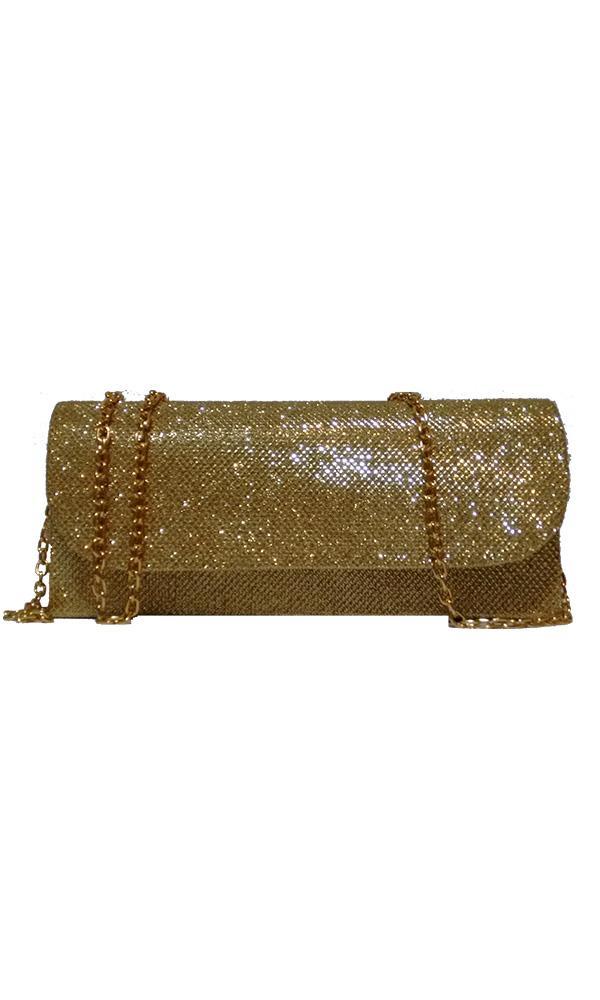 Bolsa Linha Festa Pequena Dourada